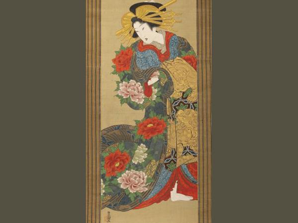 肉筆浮世絵のイメージ画像